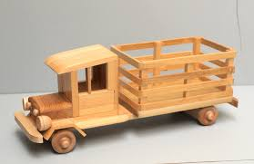 Making Wooden Toy Trucks by Wood Farm Truck Eco Friendly Wooden Toy Car For Kids Organic