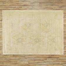 Faded Area Rug Faded Yellow Vintage Area Rug