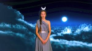 selene goddess of the moon youtube