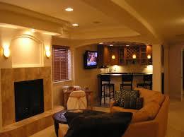 cool finished basements best flooring for basement bar basement decoration