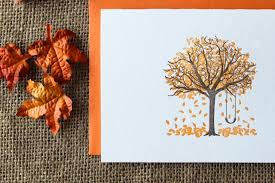 fall tree cards by paper lovely press 17 wonderful ways to say