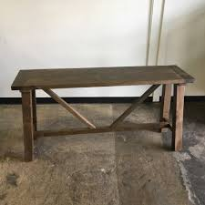 Pine Console Table Reclaimed Pine Console Table Nadeau Miami