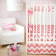 Nursery Bedding Sets Uk by Pink Chevron Crib Bedding 12 Color Ideal Chevron Crib Bedding