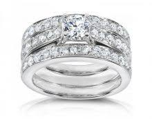 wedding trio sets 13 best trio wedding ring sets images on princess cut