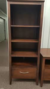 storehouse baronet furniture java bookshelves like new for sale
