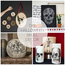 diy halloween skull decor wallums com wall decor
