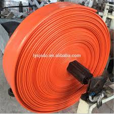 high strength polyester yarn jacket pvc compound lay flat hose for