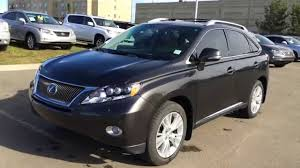 lexus rx used toronto pre owned 2010 lexus rx 450h awd 4dr hybrid ultra premium