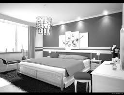 Small Modern Grey Bedroom Inspiration Bedroom Cool And Smart White Themes Wall Painting