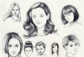 drawings of 1950 boy s hairstyles how to draw hairstyles 5 styles to draw