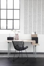 bureau home studio occasion optez pour une chaise en rotin pour votre espace bureau sympa non