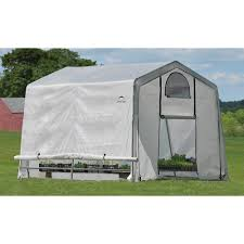 6ft X 8ft Greenhouse Shelterlogic Growit Greenhouse U2014 10ft W X 10ft L X 8ft H Model