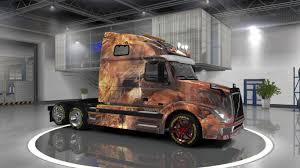 2016 volvo commercial truck volvo vnl 670 lion skin 1 22 mod euro truck simulator 2 mods