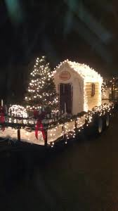 christmas parade float with lights parade floats pinterest
