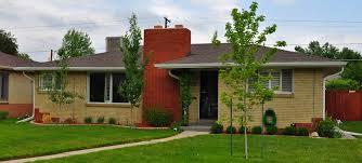 Ranch House Styles Denver U0027s Single Family Homes By Decade 1950s U2013 Denverurbanism Blog