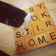 Homemade Coasters Diy Scrabble Tile Coasters Little Miss Notting Hill