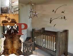 rustic gray wood baby crib for boys decofurnish