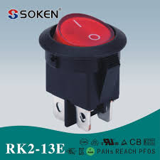 rk2 13e dpst 4pin on off kcd2 rocker switches for electrical