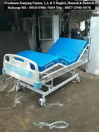 Tempat Tidur Besi Lipat harga tempat tidur pasien merk jual ranjang pasien