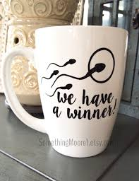 Weird Coffee Mugs by We Have A Winner Pregnancy Announcement Mug Funny
