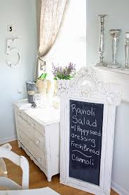 vintage chalkboards with blackboard dining room shabby chic style