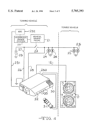 trailer brake wiring diagram 7 way tags light ripping brakes