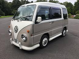 subaru minivan 1996 subaru sambar camper mathewsons