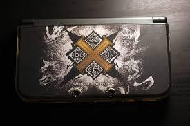 new nintendo 3ds xl custom monster hunter cross skin album on imgur new nintendo 3ds xl custom monster hunter cross skin