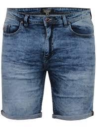 light wash denim shorts leon turn up acid wash denim shorts in light wash tokyo laundry