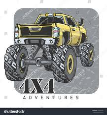 monster trucks races cartoon cars cartoon monster truck extreme sports vector stock vector 570340798