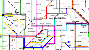 Austin Metro Rail Map by Namma Metro A Conceptual Dream For A Real Bangalore Metro Network