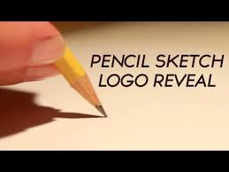 pencil sketch logo reveal u2014 after effects project videohive