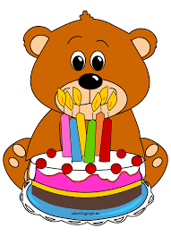 teddy bear birthday cake coloring page
