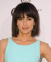 constance zimmer short cut with bangs short hairstyles lookbook