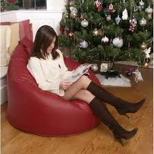 Red Leather Bean Bag Chair Buy Real Leather Bean Bags Greatbeanbags