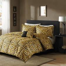 bedroom cheetah print bedrooms grey upholstered king headboard
