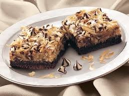 14 ingredients and directions of german chocolate coconut bars