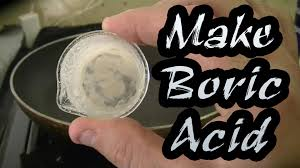 buric acid how to make boric acid