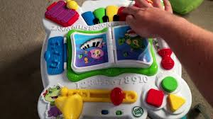 learn and groove table leapfrog learn and groove musical table activity center youtube