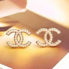 cheap earrings 59 unique cheap chanel logo earrings wedding idea