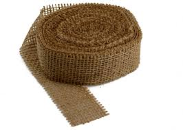 burlap ribbon burlap ribbons 1 5 wide burlapfabric burlap for wedding