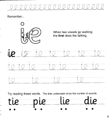 jolly phonics workbook 4 ai j oa ie ee or
