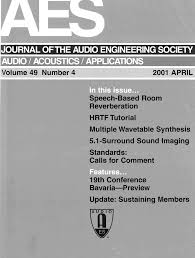 aes e library complete journal volume 49 issue 4