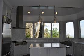 bright white kitchen with unobstructed views