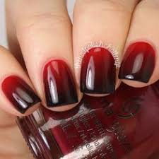 45 stylish red and black nail designs ombre nail art ombre and