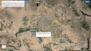 Phoenix Google Maps by Phoenix Arizona Map