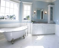 two toned interior wall colors for bathroom home combo