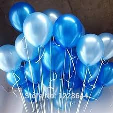 metallic balloons baby boy baby shower party supplies party decoration pealized