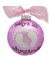 baby u0027s first christmas baby feet glass ball ornament