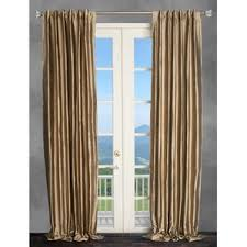 Gold Thermal Curtains Gold Glitter Curtains Wayfair